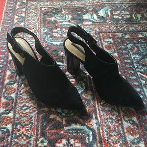 Tahari Slingback Heeled Booties